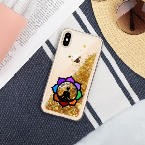 Inspirational Liquid Glitter Case for iPhone