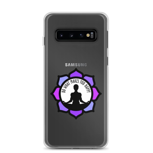 Inspirational Samsung Clear Case, for Galaxy S10