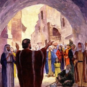 Tuesday: Peter's Sermon