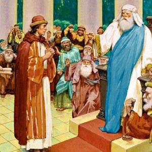 Tuesday: Before the Sanhedrin