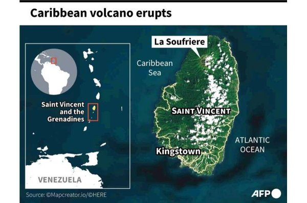 St. Vincent Volcano Eruption Appeal