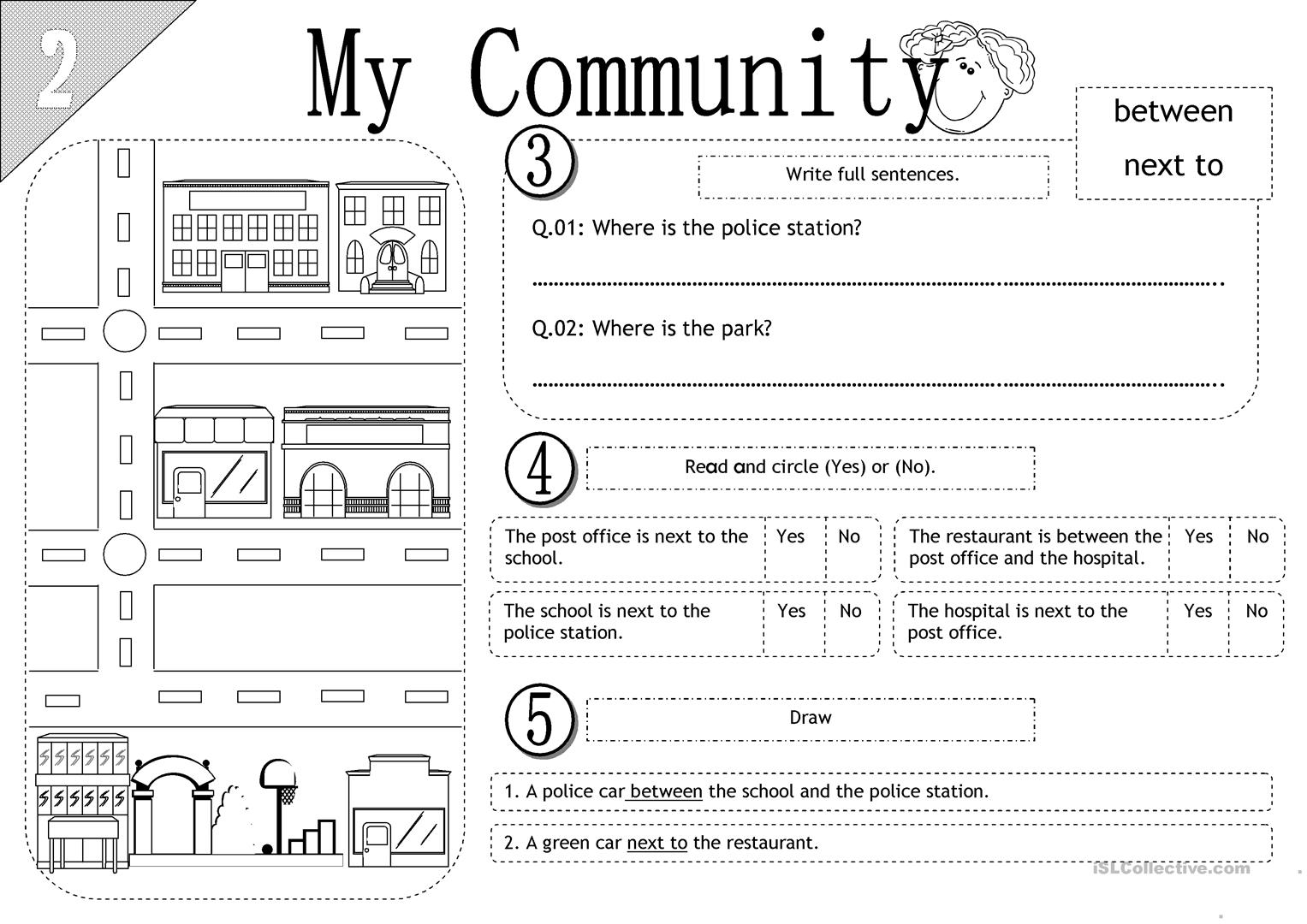 Communities Worksheet