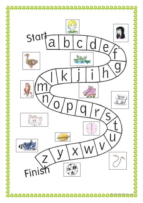 small resolution of abc game - English ESL Worksheets for distance learning and physical  classrooms