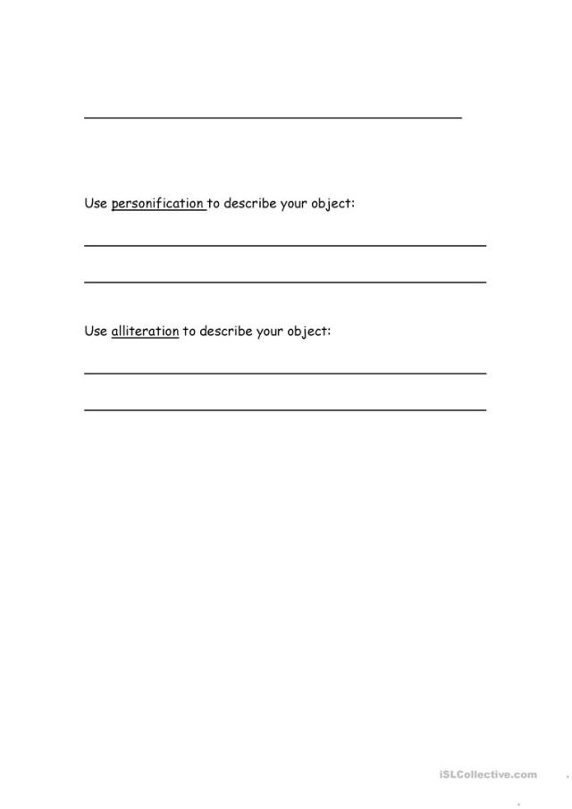 Writing an Ode - English ESL Worksheets for distance learning and