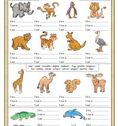 English ESL Animals worksheets - Most downloaded (2632 Results) [ 1079 x 763 Pixel ]