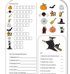 Me \u0026 Halloween - English ESL Worksheets for distance learning and physical  classrooms [ 1079 x 763 Pixel ]