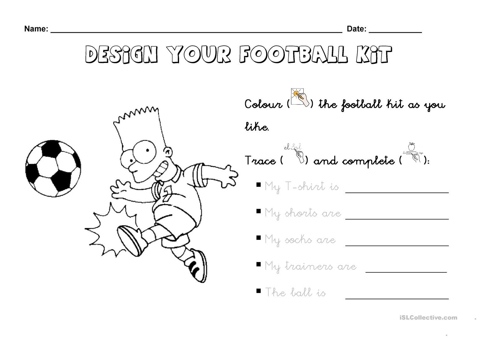 Design Your Fooitball Kit
