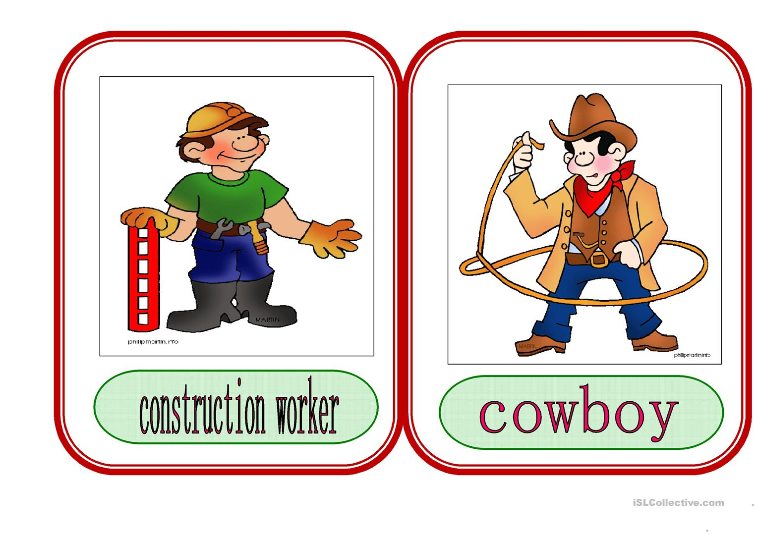 Jobs And Occupations 2 Worksheet