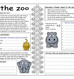 English ESL zoo worksheets - Most downloaded (121 Results) [ 1080 x 1527 Pixel ]