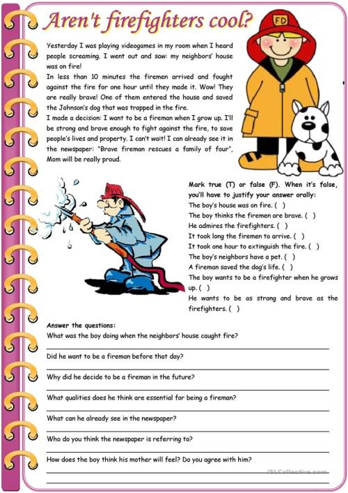 small resolution of English ESL reading comprehension worksheets - Most downloaded (898 Results)