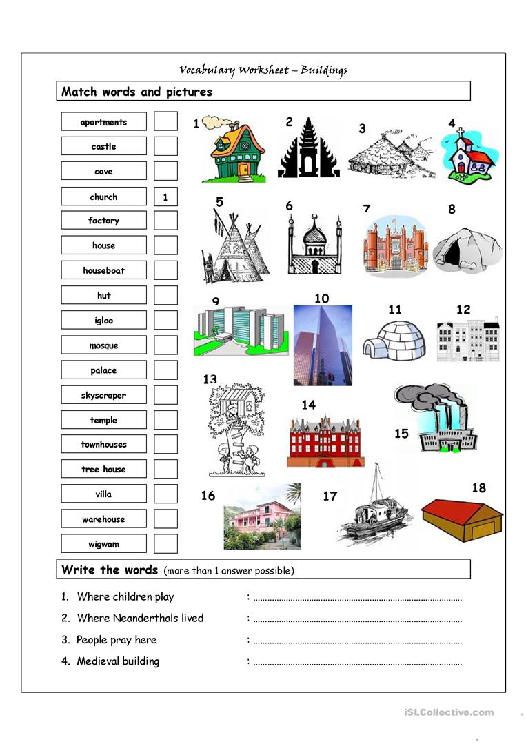 Build Vocabulary Worksheets Free Worksheets Library Download And