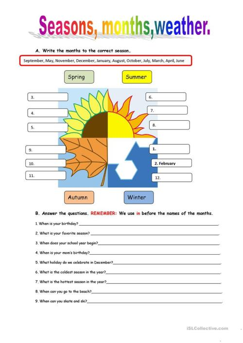 small resolution of English ESL Weather worksheets - Most downloaded (563 Results)