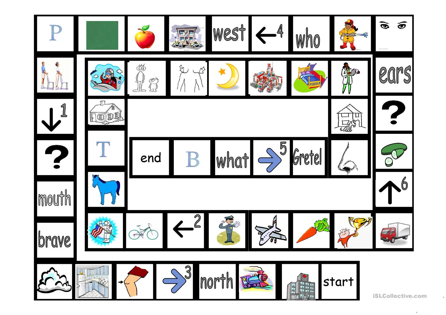 Alphabet Game Worksheet