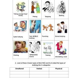 English ESL bullying worksheets - Most downloaded (49 Results) [ 1079 x 763 Pixel ]