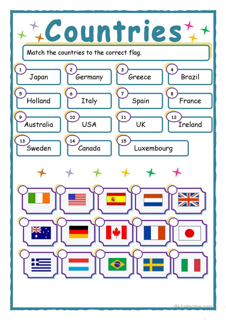 match up countries and