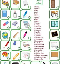English ESL classroom objects worksheets - Most downloaded (126 Results) [ 1079 x 763 Pixel ]