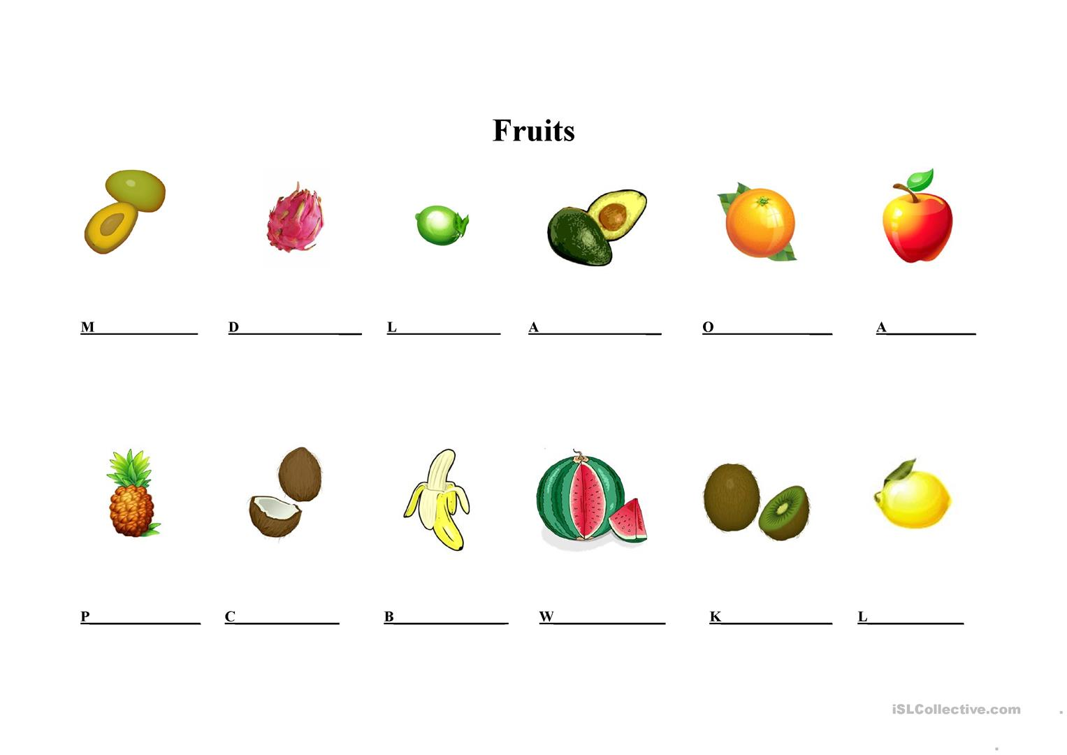 Fruits In Southeast Asia Worksheet Worksheet