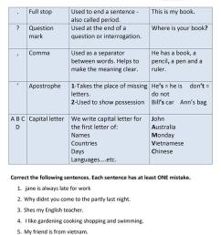 English ESL capitalization worksheets - Most downloaded (11 Results) [ 1079 x 763 Pixel ]