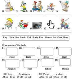Grade 3 Test - English ESL Worksheets for distance learning and physical  classrooms [ 1079 x 763 Pixel ]