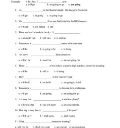 Future tenses: multiple choice - English ESL Worksheets for distance  learning and physical classrooms [ 1079 x 763 Pixel ]