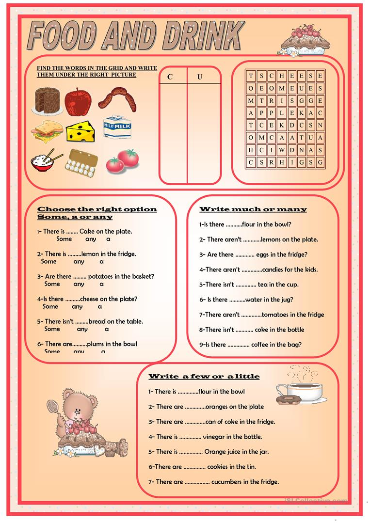 hight resolution of English ESL quantifiers worksheets - Most downloaded (101 Results)