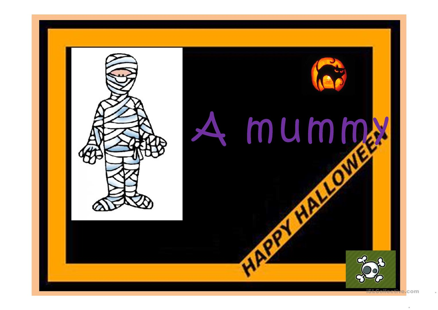 Halloween Ppt Worksheet
