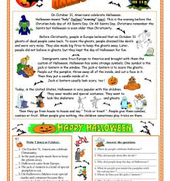 English ESL Halloween worksheets - Most downloaded (639 Results) [ 1079 x 763 Pixel ]