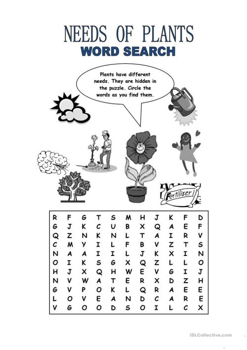 small resolution of English ESL plants worksheets - Most downloaded (24 Results)