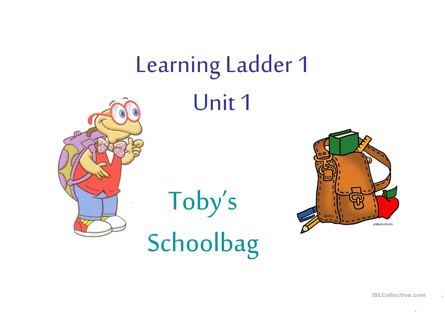 Pack The Schoolbag Worksheet