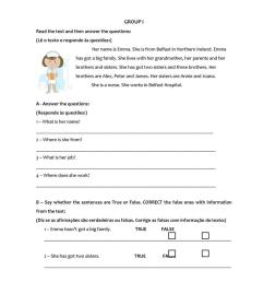 Test 5th grade family - English ESL Worksheets for distance learning and  physical classrooms [ 1079 x 763 Pixel ]
