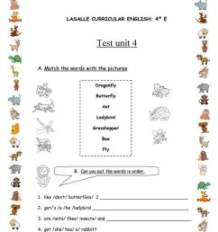 Test for 4th grade - English ESL Worksheets for distance learning and  physical classrooms [ 1079 x 763 Pixel ]