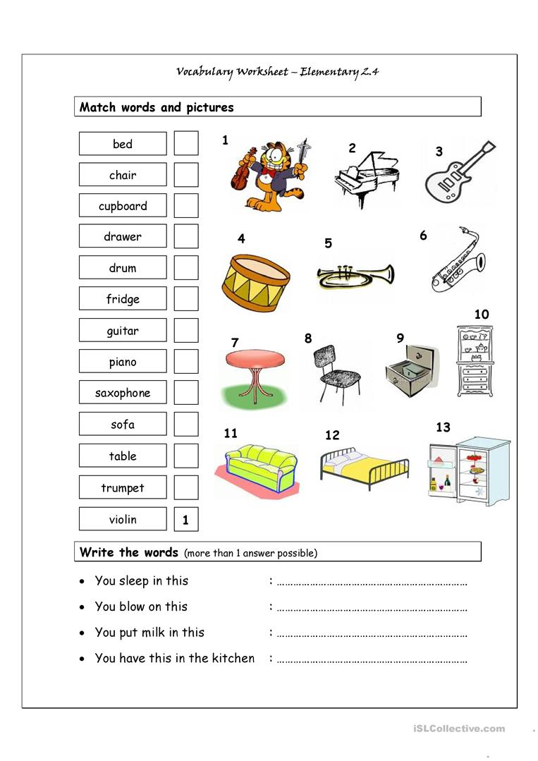 hight resolution of English ESL Music worksheets - Most downloaded (423 Results)