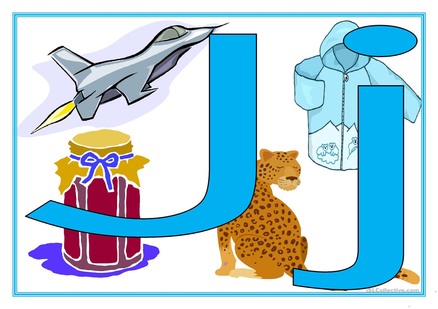 Alphabet With Phonics Pictures