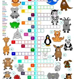 English ESL Animals worksheets - Most downloaded (2631 Results) [ 1079 x 763 Pixel ]