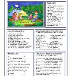 English ESL camping worksheets - Most downloaded (37 Results) [ 1079 x 763 Pixel ]