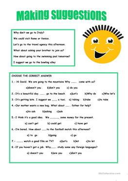 61 Free Esl Opinions Worksheets
