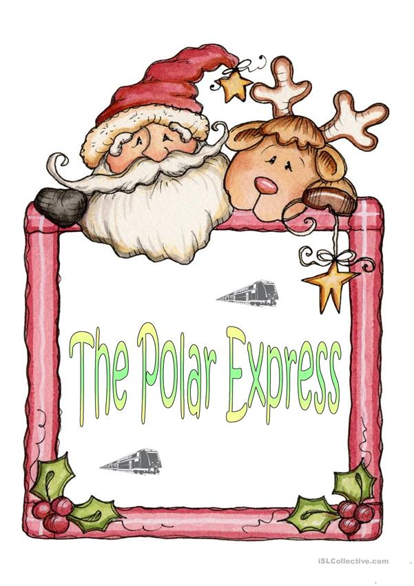 Polar Express Reading Worksheets