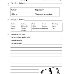 English ESL book report worksheets - Most downloaded (29 Results) [ 1079 x 763 Pixel ]