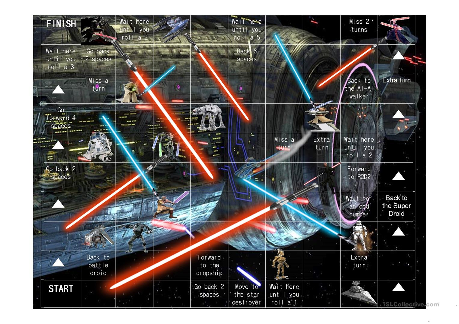 Star Wars Grammar Worksheet