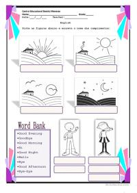 Greetings worksheet - Free ESL printable worksheets made ...