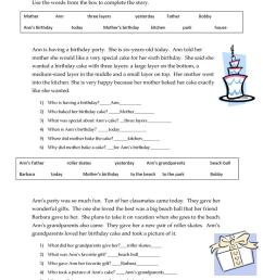 Short Stories Wh-questions - answers - English ESL Worksheets for distance  learning and physical classrooms [ 1079 x 763 Pixel ]