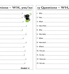 Wh Question Worksheets For Autism   Printable Worksheets and Activities for  Teachers [ 1080 x 1527 Pixel ]