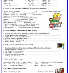 English ESL present simple worksheets - Most downloaded (2510 Results) [ 1079 x 763 Pixel ]