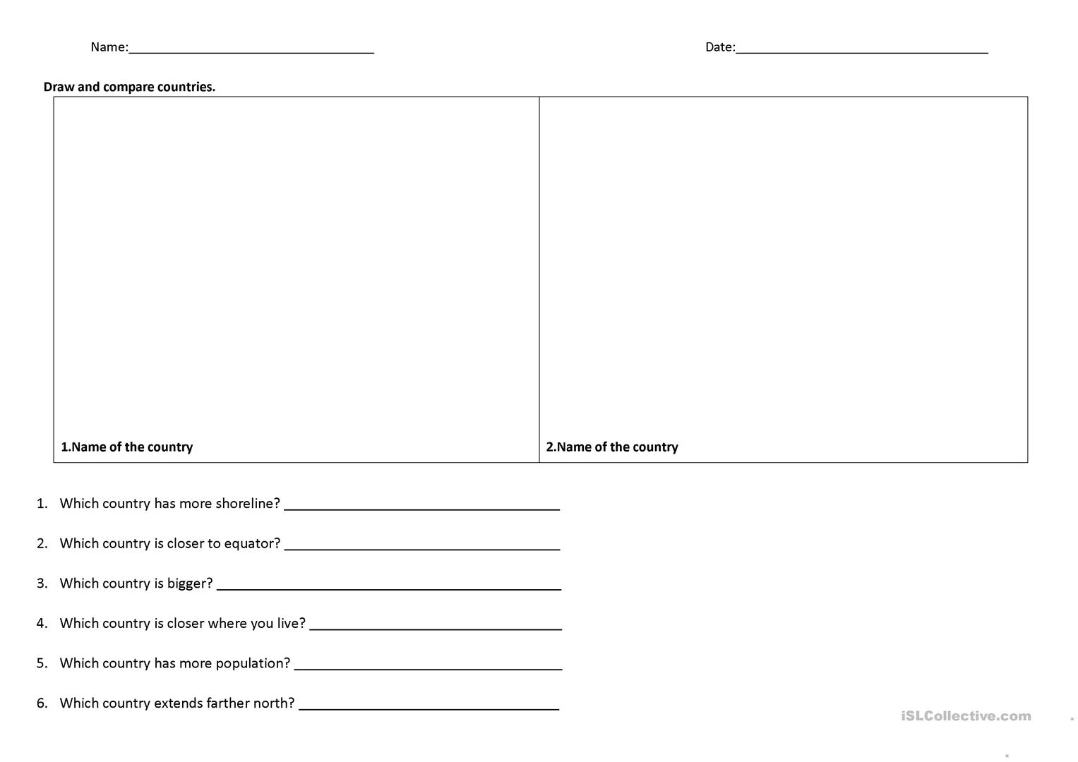 Social Stu S Language Arts Worksheet