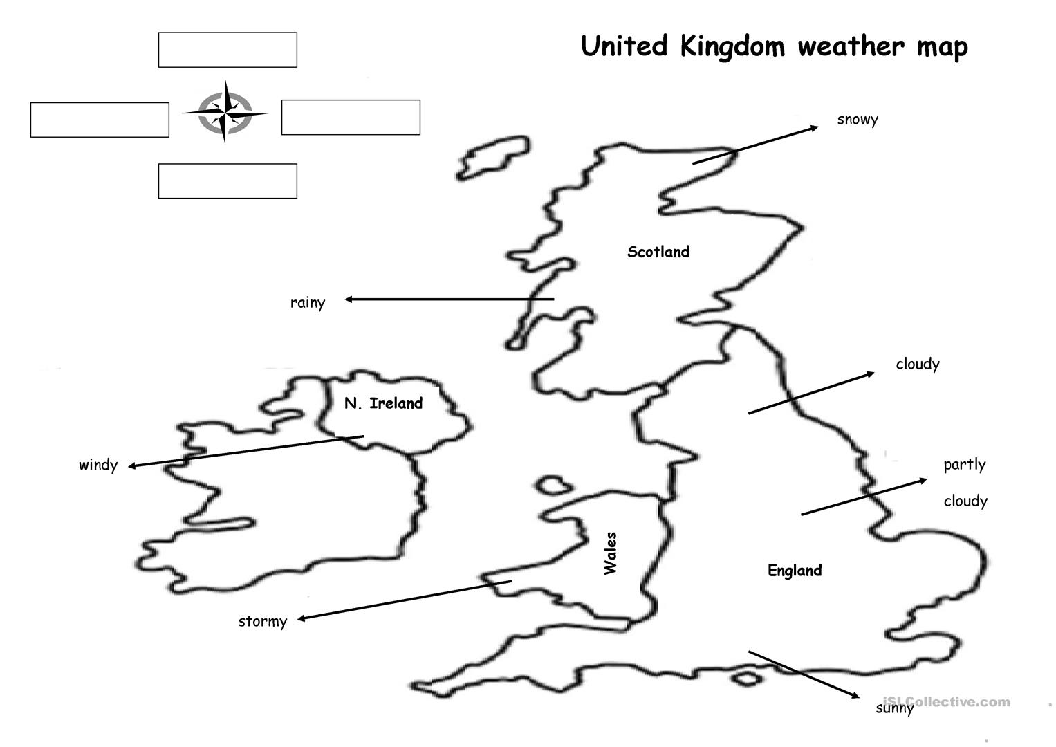 The Weather Map Worksheet