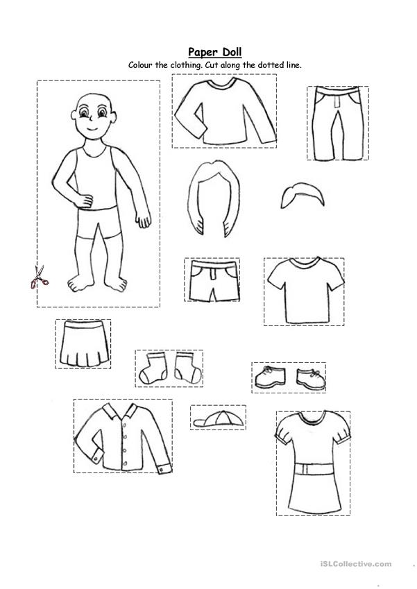 Printable Weather Activities Dressing