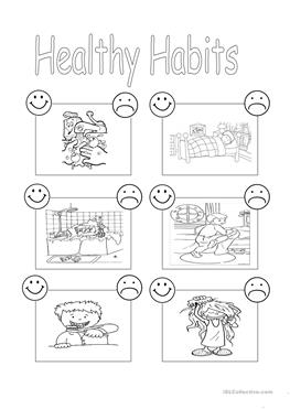 75 FREE ESL habits worksheets