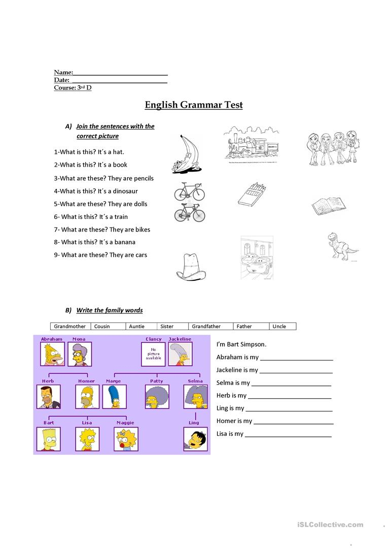 hight resolution of 3rd grade evaluation - English ESL Worksheets for distance learning and  physical classrooms