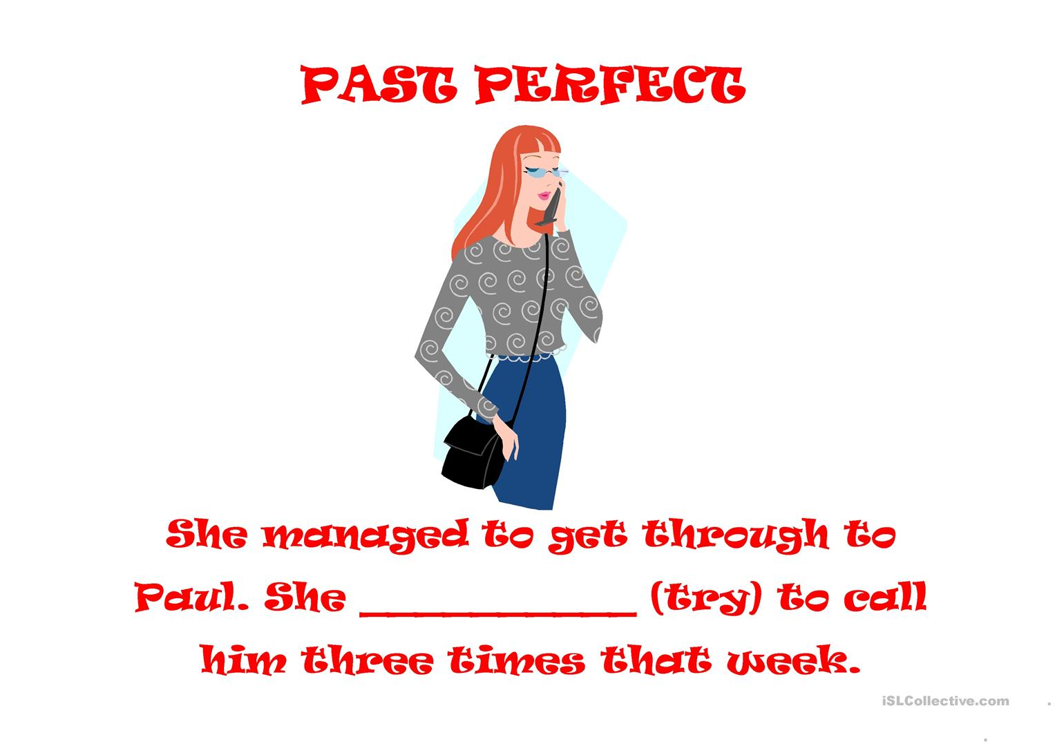 Past Perfect Simple Or Continuous Worksheet