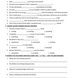 Indefinite Pronouns - English ESL Worksheets for distance learning and  physical classrooms [ 1079 x 763 Pixel ]